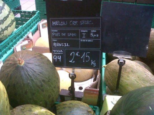 Preocupación en Asaja por la sobreoferta de melón y sandía de Senegal y Marruecos
