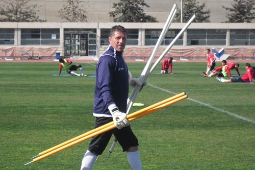 El preparador de porteros de la UD Almería ganó la Eurocopa de 2008 con España