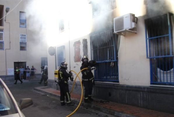 Incendio Barrio Alto