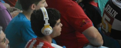La UD Almería dependía de otros marcadores para jugar el play off y eso se hizo notar en la grada