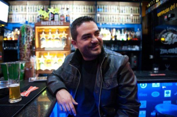César Maldonado en Los Banderines del Pub Zaguán