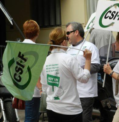 CSIF no quiere que se crea que los empleados públicos tienen la culpa de los derroches en las administraciones