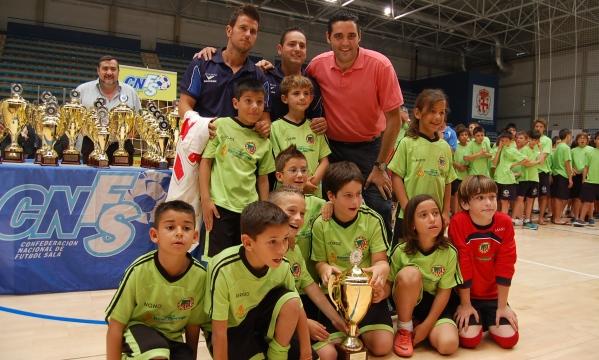 Campeonato España fútbol Sala Cantera Almería