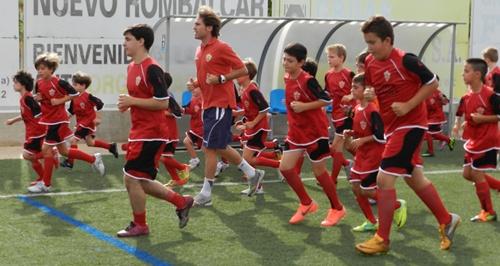 El Campus del Almería consta de dos fases de entrenamiento y Corona ha participado en la primera