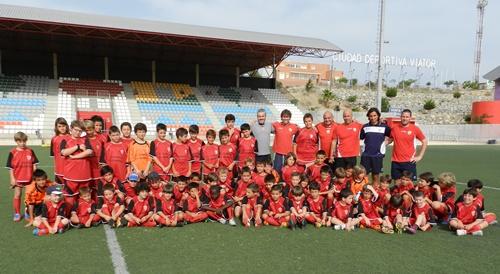 La UD Almería ha reunido a más de cincuenta niños en su primera semana de desarrollo