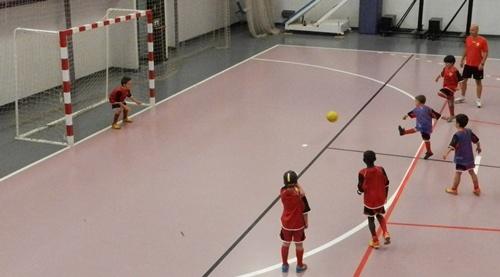 Las instalaciones de la Ciudad Deportiva de Viator también constan de un pabellón usado por el Campus de la UD Almería