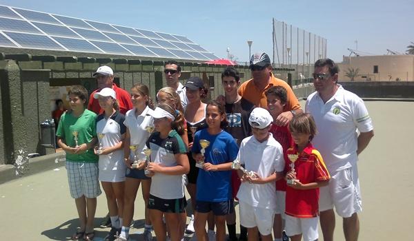 El CN Jairán de Almería acogió la penúltima prueba del Circuito Provincial de Tenis antes del máster