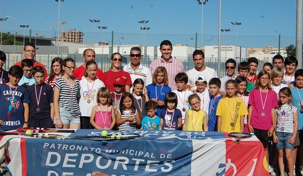 El Patronato Municipal de Deportes de Almería ha clausurado con la disputa del Máster su competición de tenis
