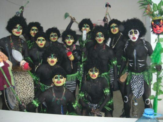 Murga Los Nipapuas año 2011