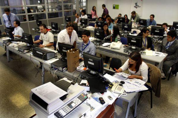 Sala de prensa