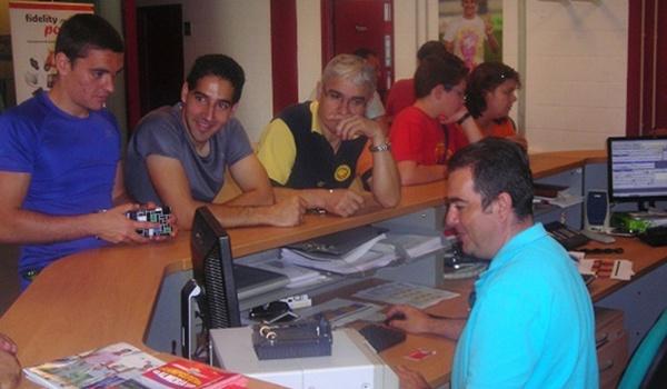 Comienza la renovación de abonos de la UD Almería para otra temporada en la Liga Adelante y con la ayuda de David Bisbal