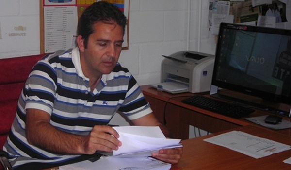 El director deportivo de la UD Almería habla de Ulloa, Bernardello, Pellerano y Silva