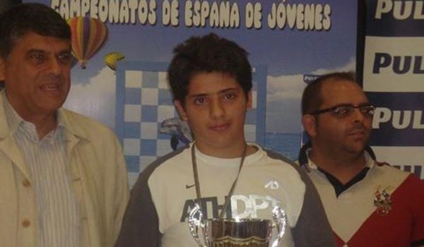 Uclés se ha proclamado campeón de España sub-14 de ajedrez en Salobreña