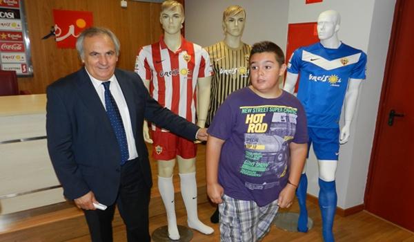 El presidente de la UD Almería ha pedido la ayuda de todos para conseguir el ascenso a la Liga BBVA
