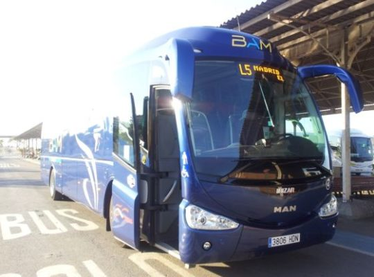 Bus_Almeria-Madrid