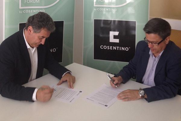 La sostenibilidad y la internacionalización son pilares fundamentales de Cosentino, multinacional con origen en Almería