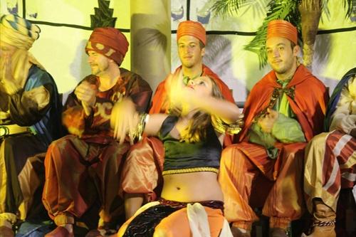 Aben Humeya organizó unos Juegos Moriscos en los que también contaba la danza