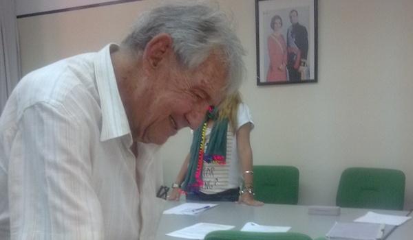 El histórico Emilio Campra participó en las votaciones del atletismo almeriense