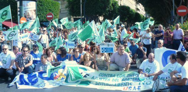 Manifestación CSIF