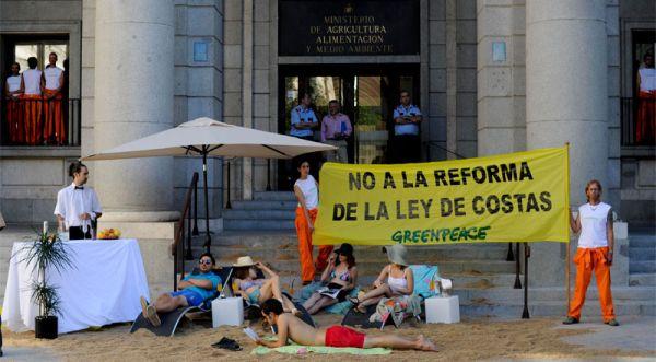 No a nuestra costa / Foto: Greenpeace