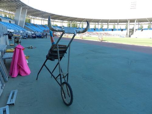 Pocos usos le caben ya al Estadio de los Juegos Mediterráneos de Almería