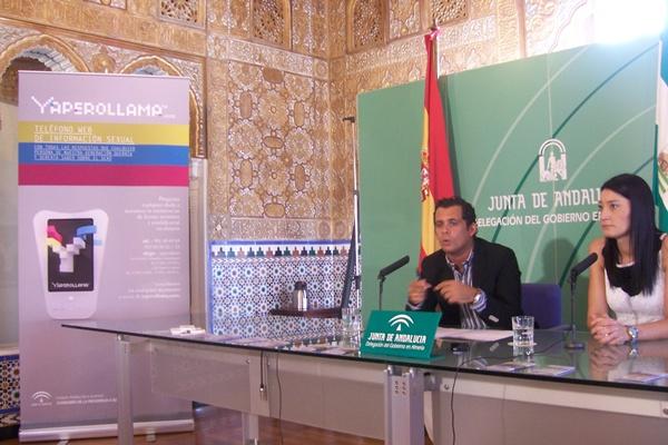 Campaña de información sexual del Instituto Andaluz de la Juventud que arranca en Almería