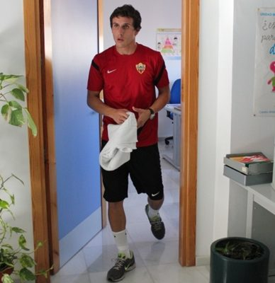 Christian Fernández ha dejado el Racing de Santander para venir a la UD Almería
