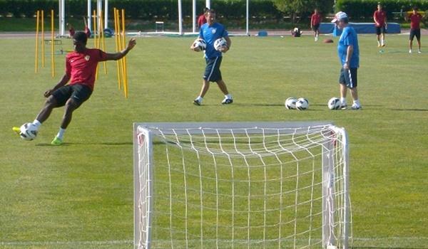La UD Almería aprieta en su pretemporada con casi todos los rivales de preparación cerrados