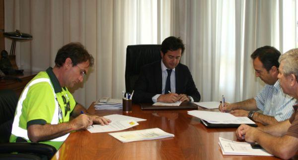 firma demarcación