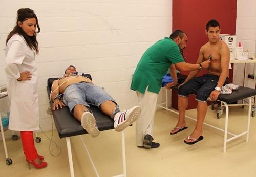Las pruebas médicas de la UD Almería para comenzar la pretemporada seguirán los próximos días