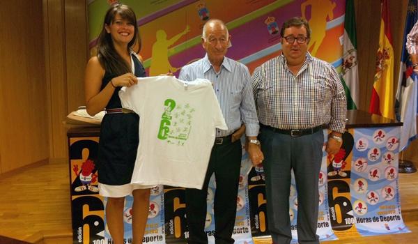 Diputación de Almería colabora en la organización de las 100 horas de deporte de Roquetas de Mar