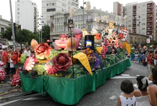 Las carrozas de la Feria de Almería estuvieron muy conseguidas