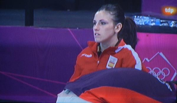 Carmen Martín se ha lesionado de gravedad su rodilla derecha