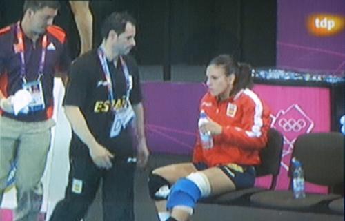 La roquetera Carmen Martín había sido TT en Twitter varios días por su juego, y ayer por su lesión