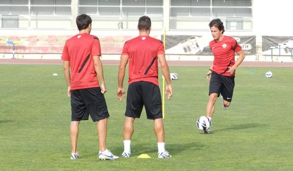 Fichado para el filial, Chumbi entra ya en la primera convocatoria del Segunda División