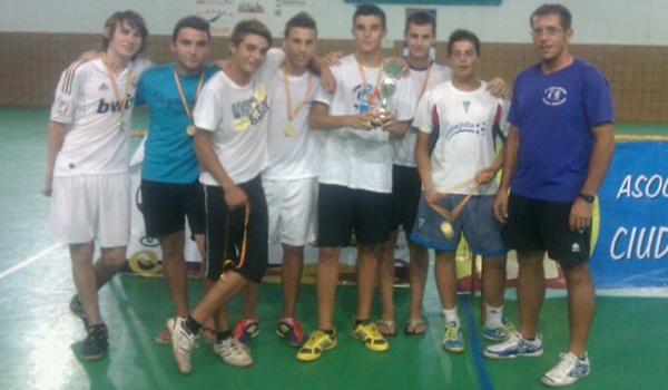 Hasta 80 participantes hubo en el torneo de fútbol sala de Balerma