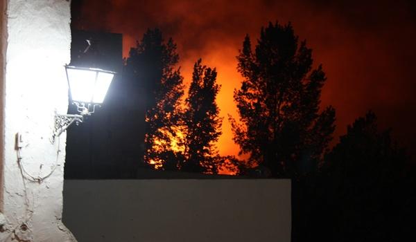 El Grupo Ecologista Mediterráneo cree que los cohetes pueden provocar incendios