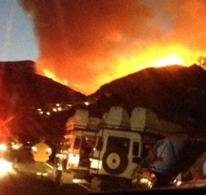 Incendio en Bédar
