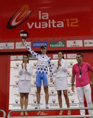 El primer líder de la montaña y la combinada, Javi Chacón, quiere dar más batalla en esta Vuelta a España 2012