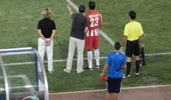 El técnico de la UD Almería ha sentado en el banquillo a Ulloa, pichichi de la pasada Liga Adelante