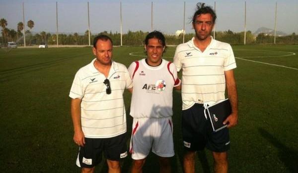 Ortiz Bernal, Armindo y Ramos son tres del Almería que se han encontrado en Sesiones AFE