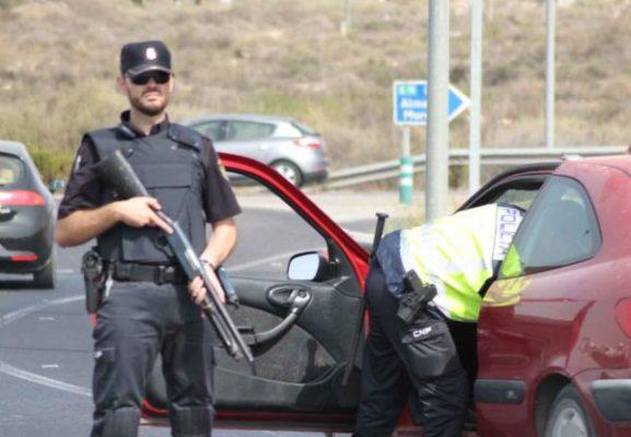 Policía Almería Control