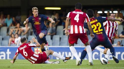 Pocos resultados como el del Barcelona - Almería se darán en esta Liga Adelante