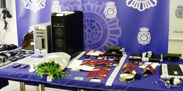 La operación Indalo de la Polícia Nacional ha detenido a 19 implicados en la red