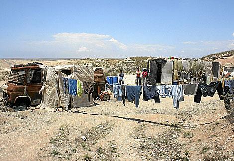 Asentamientos ilegales en El Ejido