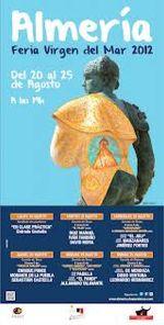 CARTEL DE FERIA ALMERIA TOROS