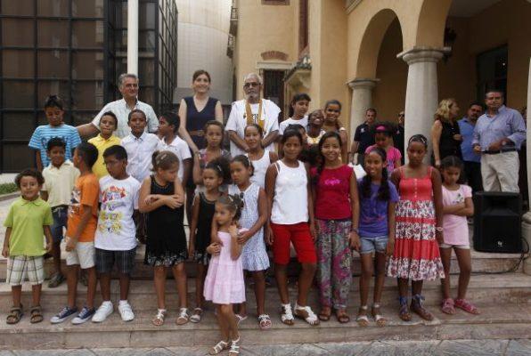 niños sahara