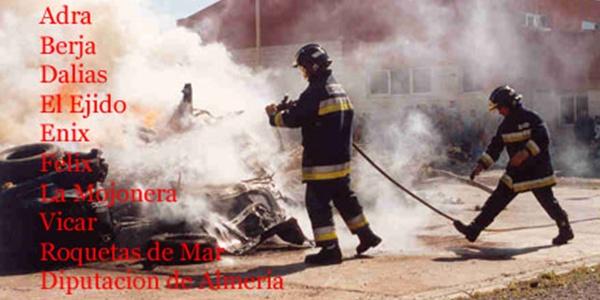 Rápida actuación de los bomberos en Pampanico (El Ejido)
