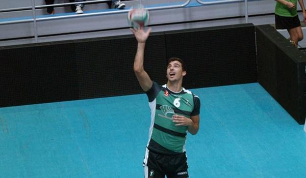 El central de Unicaja Almería, Borja Ruiz, no se pone límites esta temporada