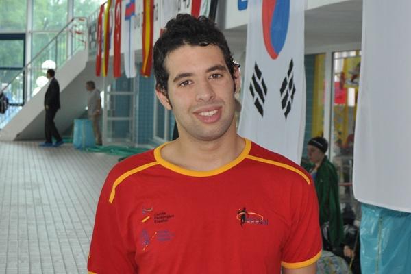 El gran campeón almeriense de natación adaptada ha hecho un gran año